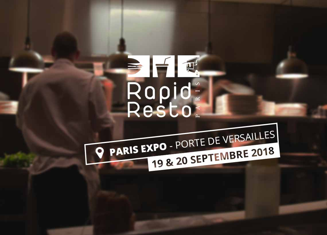 AirKitchen en démonstration au salon Rapid Resto à Paris