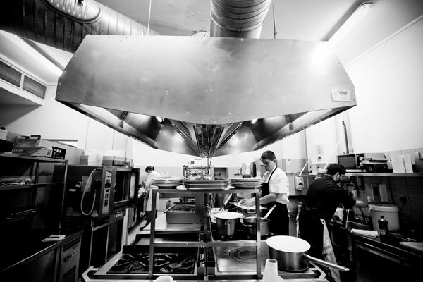 Préparation des cuisines